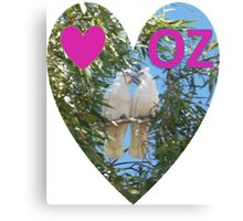 Love OZ Canvas Print