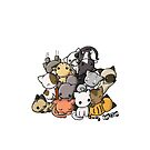 Pile of Kitties by reloveplanet