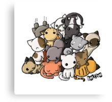Pile of Kitties Canvas Print