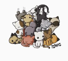 Pile of Kitties Kids Tee