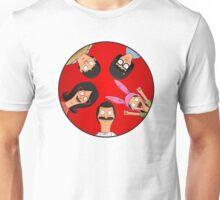 Bob's Burgers Red Unisex T-Shirt
