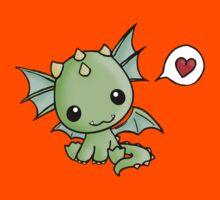 Love Dragon  Kids Tee
