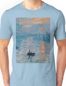 Claude Monet - Impression Sunrise 1872 Unisex T-Shirt