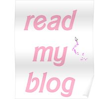Read My Blog Poster