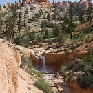Utah Waterfall by clizzio