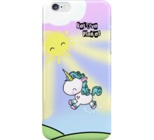 Prancing Unicorn iPhone Case/Skin