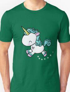 Prancing Unicorn Unisex T-Shirt