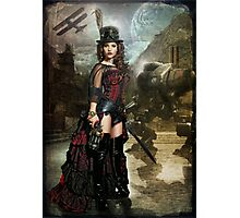 Steampunk Slayer Photographic Print