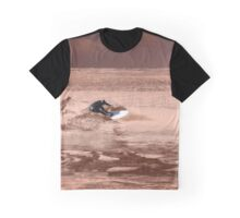Surfing the Red Planet Graphic T-Shirt