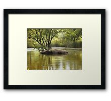 Personal Haven Framed Print