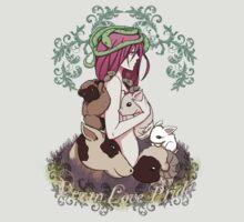 Vegan Love Pride by Bianca Loran