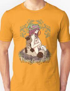 Vegan Love Pride Unisex T-Shirt