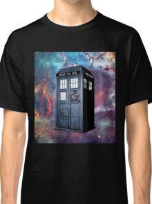 tardis box galxy Classic T-Shirt