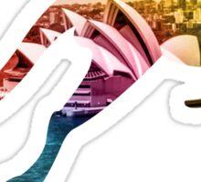 Travel Australia Sticker