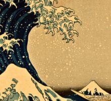 Katsushika Hokusai - The Great Wave Off the Coast of Kanagawa 19th century Sticker
