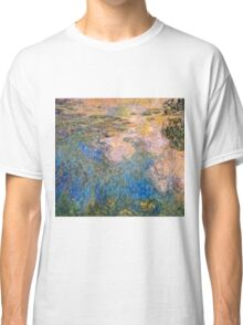 Claude Monet - The Water lily Pond (1914 1917)  Classic T-Shirt