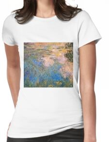 Claude Monet - The Water lily Pond (1914 1917)  Womens Fitted T-Shirt