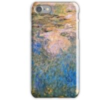 Claude Monet - The Water lily Pond (1914 1917)  iPhone Case/Skin
