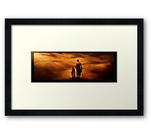 Dying Light Framed Print