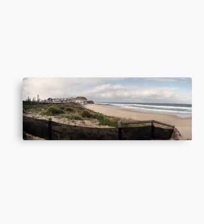 Bar Beach (Newcastle) Canvas Print