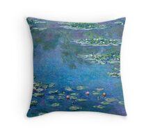 Claude Monet - Water Lilies (1906)  Throw Pillow