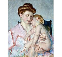 Mary Cassatt - Sleepy Baby ( 1910)  Photographic Print