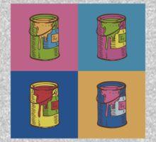 Pop Art Tin Cans One Piece - Long Sleeve