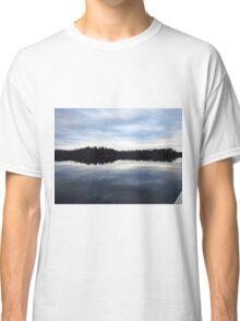 When Sky Meets Water Classic T-Shirt