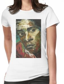 Jean-Michel Basquiat Womens Fitted T-Shirt