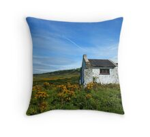 Whitepark Bay, Antrim, Northern Ireland Throw Pillow
