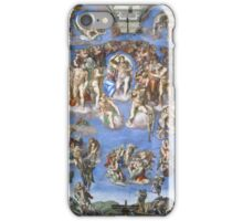 Michelangelo - Last Judgement iPhone Case/Skin