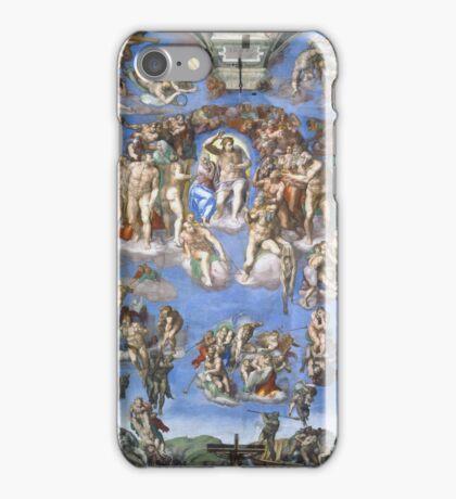 Michelangelo - Last Judgement iPhone Case/Skin