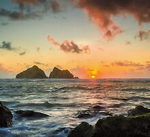 Cornish Sunset by JEZ22
