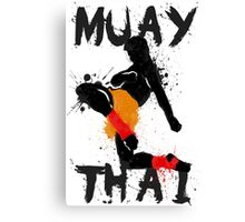 Muay Thay Fighter Canvas Print