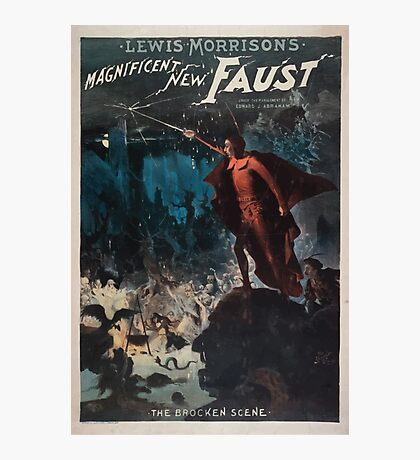 Performing Arts Posters Lewis Morrisons magnificent new Faust 0671 Photographic Print