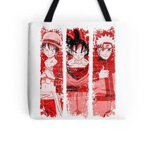 THREE HEROES Tote Bag