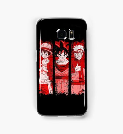 THREE HEROES Samsung Galaxy Case/Skin