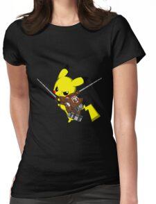 Shingeki No Pika! Womens Fitted T-Shirt