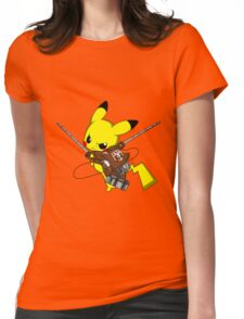 Shingeki No Pika! Womens Fitted T-Shirt