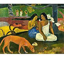 Paul Gauguin - Arearea (1892)  Photographic Print