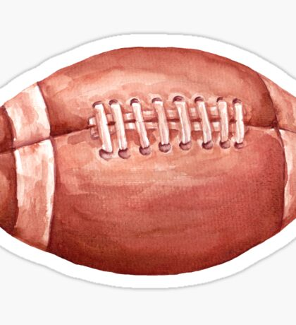 ball. american football Sticker