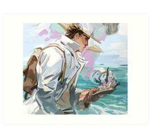 Ocean man Art Print