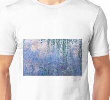 Claude Monet - The Water Lilies - Morning with Willows (1915 - 1926)  Unisex T-Shirt
