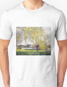 Claude Monet - The Willows Unisex T-Shirt