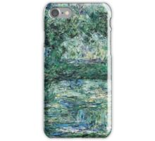 Claude Monet - The Japanese Bridge (1914 - 1917)  iPhone Case/Skin