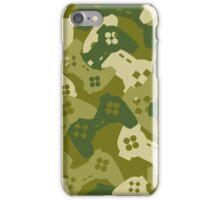 Joysticks Camouflage iPhone Case/Skin