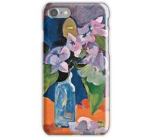 Paul Gauguin - Still Life with Flowers and Idol ( 1892)  iPhone Case/Skin