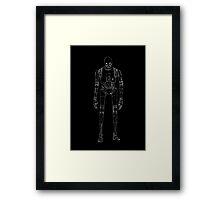 Star Wars K-2SO Rogue One Minimal Framed Print