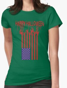 Happy Halloween 2016 - Scary Tshirt Womens Fitted T-Shirt