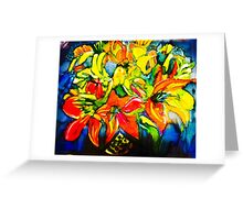 lilies best Greeting Card